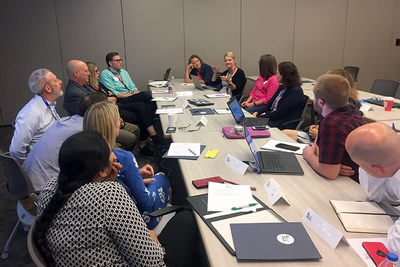 ITCC group brainstorm