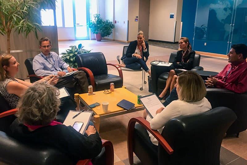 ITCC brainstorming session